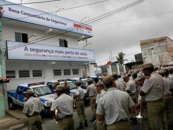 Itinga, em Lauro de Freitas, também conta com Base de Segurança Comunitária - Foto: Luciano da Matta | Ag. A TARDE
