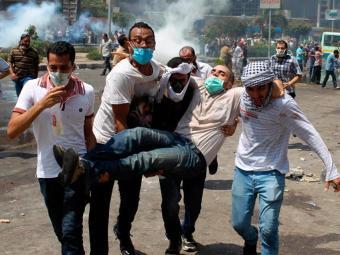 Forças de segurança lançaram gás lacrimogêneo e munição de verdade contra manifestantes - Foto: Agência Reuters