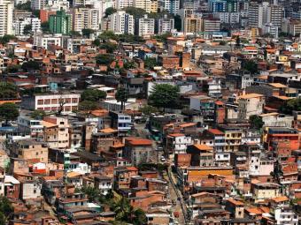 Foto aérea mostra o Nordeste de Amaralina, onde acontece a ação - Foto: Lúcio Távora | Agência A TARDE