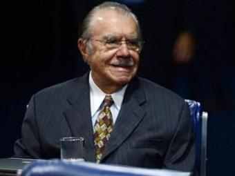 Sarney está internado desde o final de julho - Foto: Agência Brasil