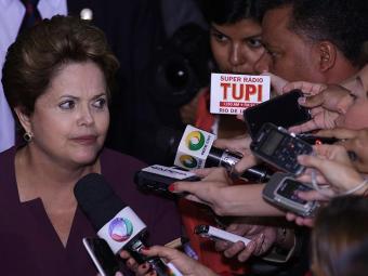 Presidente lembrou que governo fez pactos com a população após protestos - Foto: Ueslei Marcelino | Reuters