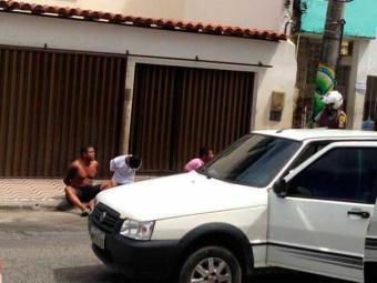Assaltantes foram presos na Federação - Foto: Lucas Lobo   Reprodução   Facebook