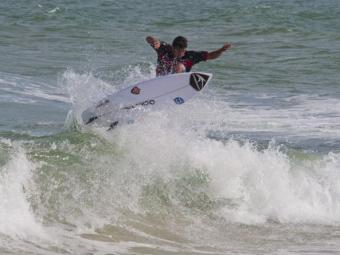 Etapa foi realizada na praia de Lacanau, no sudoeste da França - Foto: Esporte Clube Vitória   Divulgação