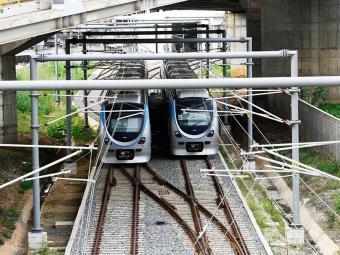 Metrô está em obras há 13 anos - Foto: Margarida Neide | Agência A TARDE