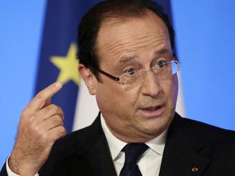 Presidente da França ameaça reagir aos ataques sírios - Foto: Agência Reuters