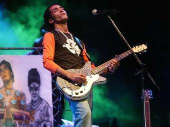 Reggaeman é o convidado da banda afro - Foto: Edmar Melo | Ag. A TARDE