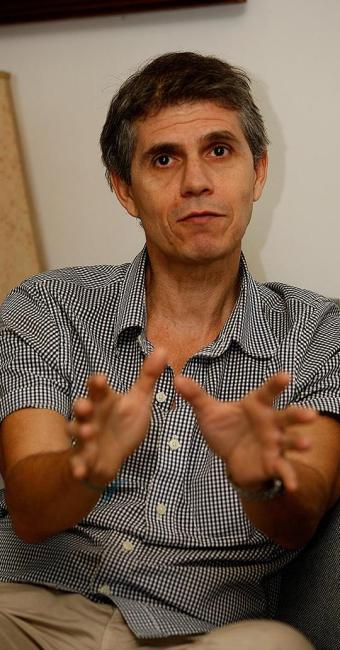 Sidônio Palmeira, empresário e idealizador do movimento 'Bahia da Torcida' - Foto: Luciano da Matta | Ag. A TARDE