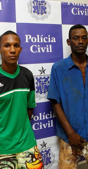 Raimundo Santana Portela Filho e Roberval Bispo de Souza vão ficar presos - Foto: Marco Aurélio Martins | Ag. A TARDE