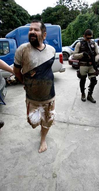 Suspeito de abusar de crianças é preso pela polícia na cidade de Feira de Santana - Foto: Luiz Tito   Ag. A TARDE