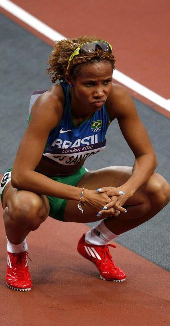 Evelyn dos Santos é uma das atletas que perderam a bolsa - Foto: JuanJo Martín   Efe   Arquivo Ag. A TARDE