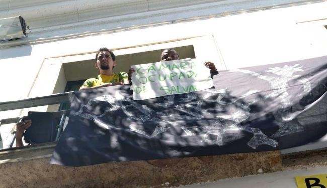 Integrantes do movimento estão há 11 dias na Câmara Municipal - Foto: Matheus Souza | Divulgação