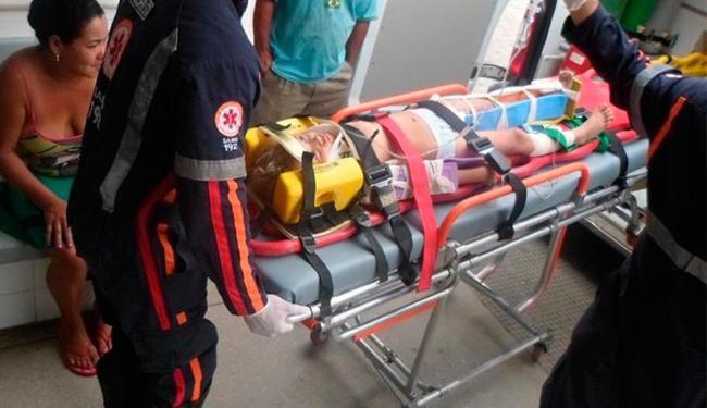 As vítimas foram socorridas para o Hospital Cristo Redentor - Foto: Tiago Brige | Site Itapetinga Agora