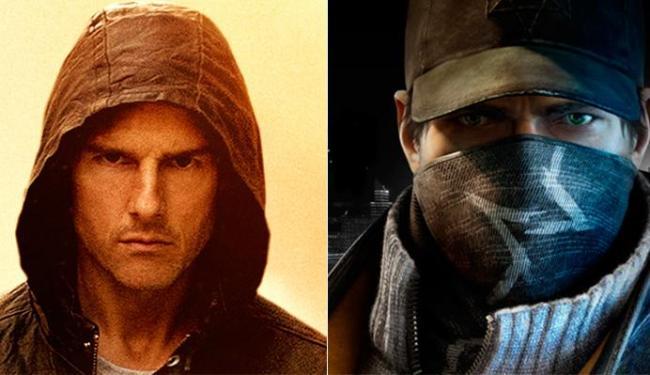 Tom Cruise foi eleito pelos internautas em pesquisa feita pela Ubisoft para interpretar Aiden Pearce - Foto: Divulgação