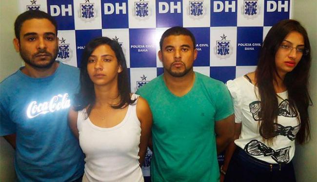 Segundo a polícia, jovens integram grupo envolvido em assaltos e homicídios - Foto: Divulgação | Polícia Civil