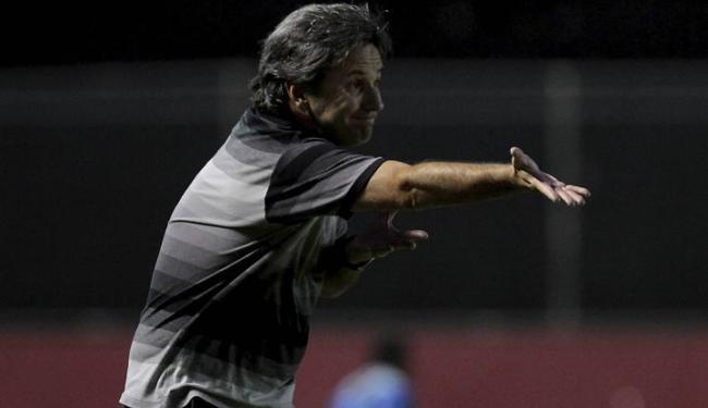 Técnico quer presença maciça do torcedor do Vitória contra Lusa (domingo) e Flu (quarta) - Foto: Eduardo Martins   Ag. A Tarde