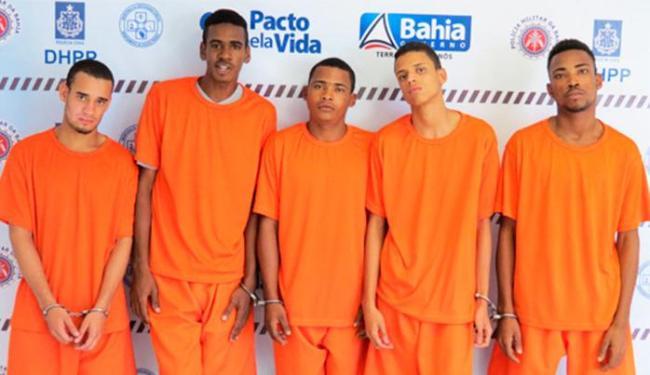 Bando foi capturado em carro roubado na Boca do Rio - Foto: Divulgação   Polícia Civil