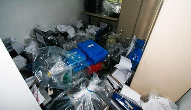 Operação resultou ainda na apreensão de computadores e outros equipamentos eletrônicos - Foto: Divulgação | Polícia Civil