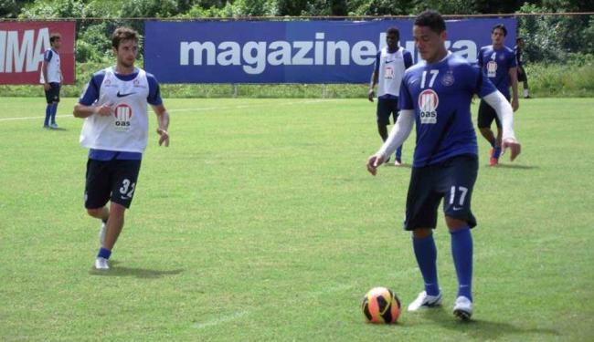 Cristóvão testou mudanças, mas time só deve ser divulgado momentos antes da partida - Foto: Esporte Clube Bahia | Divulgação