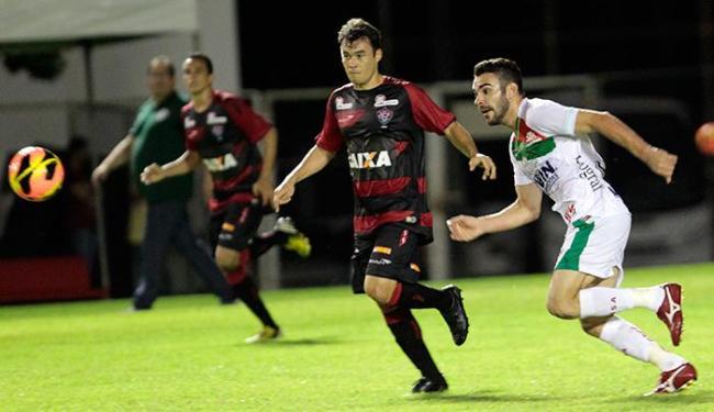 Renato Cajá não foi bem e saiu no intervalo, pirado com as vaias - Foto: Eduardo Martins | Ag. A TARDE
