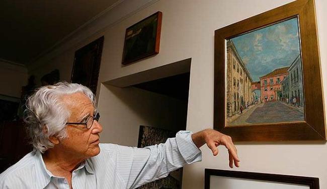 Fernando da Rocha Peres é especialista na história da antiga Sé da Bahia - Foto: Marco Aurélio Martins | Ag. A TARDE