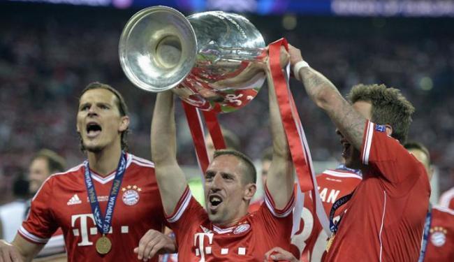 Ribéry (centro) surge como novidade na disputa de melhor jogador da temporada - Foto: Martin Meissner / Agência AP