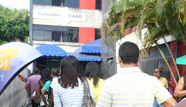 Os postos da Lapa e do Iguatemi (foto) estão funcionando normalmente - Foto: Arestides Baptista | Ag. A TARDE