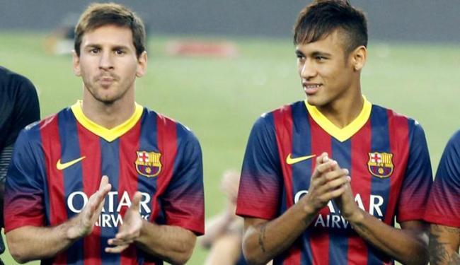 Geraldo Martino disse que Neymar e Messi