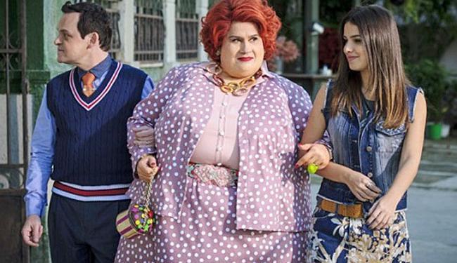 Dona Redonda no remake é interpretada por Vera Holtz - Foto: Divulgação   TV Globo