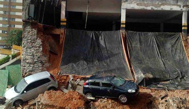 Escavação teria provocado desabamento em Brotas - Foto: Edilson Lima   Ag. A TARDE