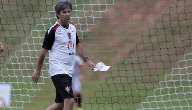 Para o técnico do Vitória, Wilson vem sendo o melhor goleiro da Série A - Foto: Eduardo Martins | Ag. A Tarde