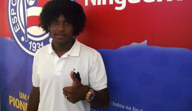 Barbio, 20 anos, já trabalhou com Cristóvão Borges no Vasco - Foto: Assessoria do Esporte Clube Bahia / Divulgação