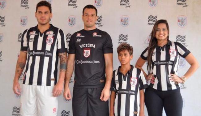 Novo uniforme do Leão foi inspirado no primeiro padrão utilizado pelo clube - Foto: Esporte Clube Vitória | Divulgação