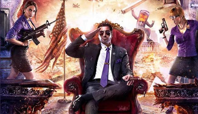 Jogador é o presidente dos Estados Unidos em Saints Row 4 - Foto: Divulgação
