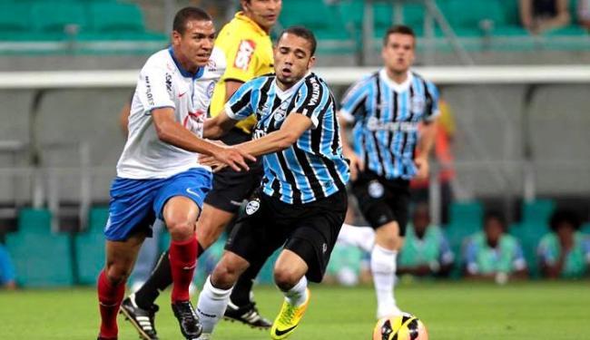 Tricolor saiu de campo com a quarta derrota no campeonato - Foto: Eduardo Martins | Agência A TARDE