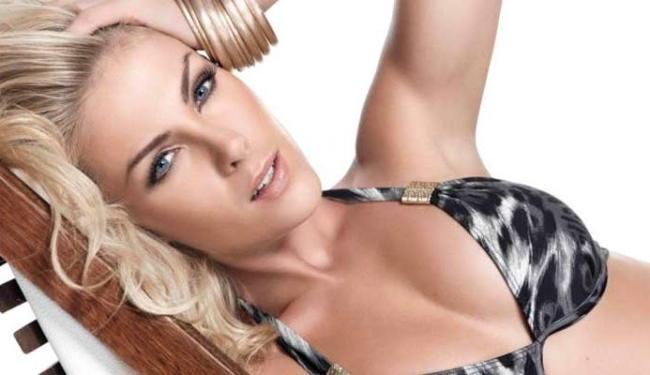 Apresentadora e ex-modelo fez o anúncio no Twtitter - Foto: Divulgação