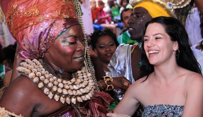 Natália Lage curte festa ao lado de Negra Jhô - Foto: Fabio Peixoto | Divulgação