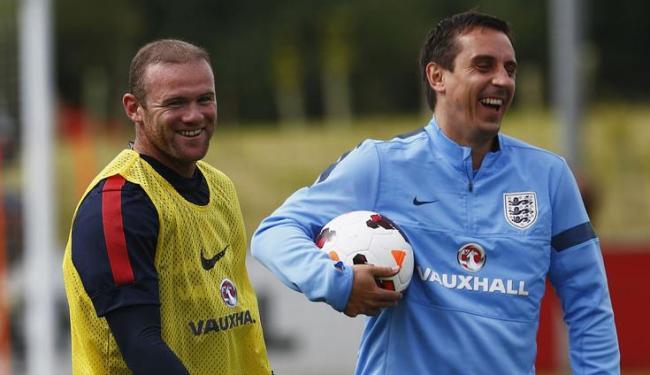 Recuperado de lesão do ombro, Rooney joga no amistoso de quarta em Wembley - Foto: Darren Staples / Agência Reuters