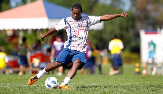 Jobson jogou no Bahia em 2011 e estava encostado no São Caetano, também por motivos de indisciplina - Foto: Eduardo Martins | Ag. A TARDE