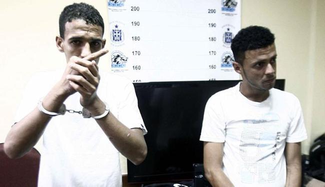 Orlean de Lucena Ribeiro (esquerda) e Michael Santos Oliveira - Foto: Luiz Tito | Ag. A TARDE