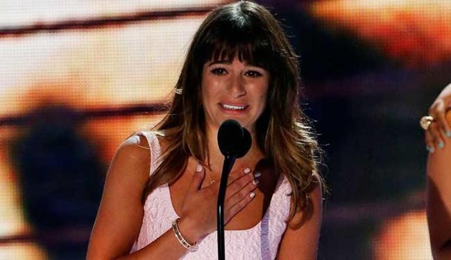 Lea recebeu prêmio de melhor atriz em uma série de comédia de TV por Glee - Foto: Agência Reuters