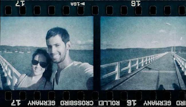 Guto Amorim leva a analógica para viagens e registra imagens nos rolos de filme - Foto: Guto Amorim | Arquivo Pessoal