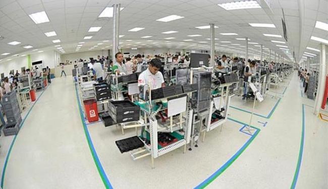 Fábrica da Samsung em Manaus - Foto: Agência de Comunicação do governo do Amazonas | Divulgação