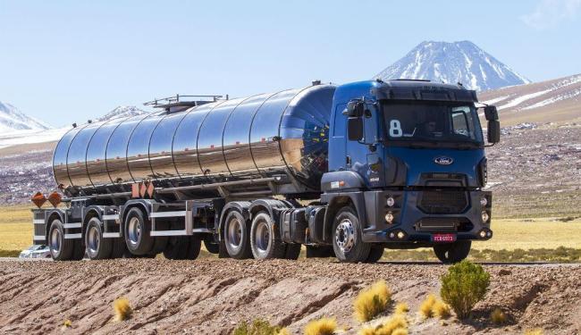 Com visual moderno, o novo caminhão tem capacidade de até 56 toneladas de PBT - Foto: Divulgação
