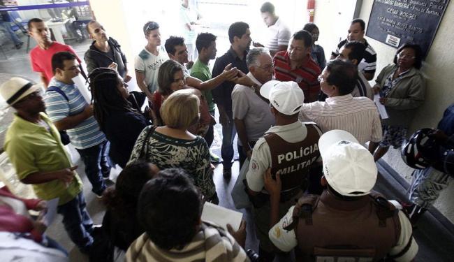 Vitimas prestaram queixa no Complexo Policial Investigador Bandeira, em Feira de Santana - Foto: Luiz Tito   Ag. A TARDE