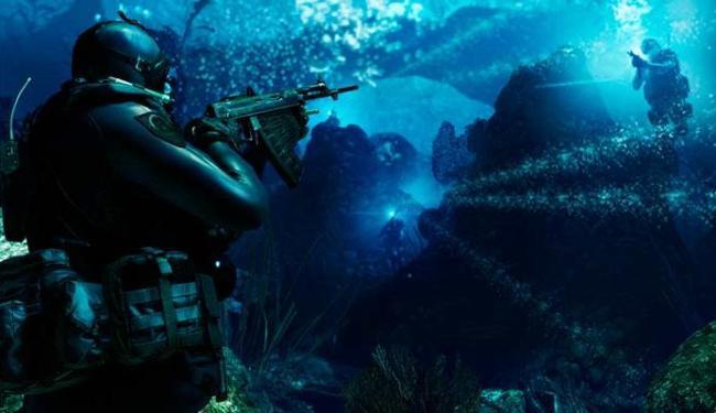 Game terá batalhas sub-aquáticas - Foto: Divulgação