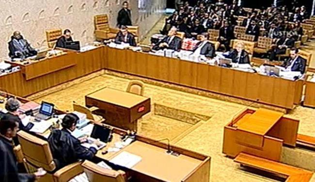 Plenário do STF julga os embargos dos condenados - Foto: Divulgação