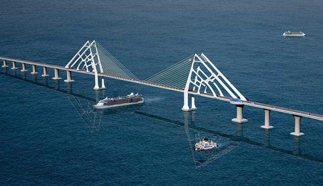 Lançamento do edital para construção da ponte está previsto para 2014 - Foto: Divulgação