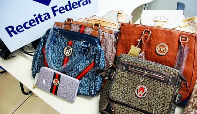 Após a confirmação da falsidade, as bolsas deverão ser destruídas - Foto: Divulgação   Polícia Federal
