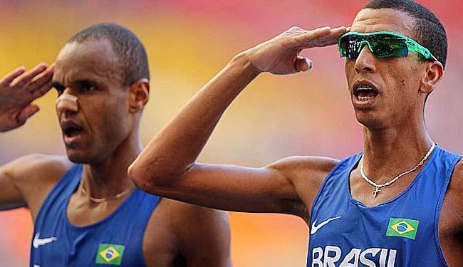 Paulo Roberto e Solonei após a prova - Foto: Divulgação | CBAt/Getty Images/IAAF