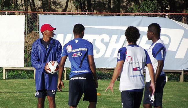 Cristóvão deve mandar time misto a campo contra a Lusa - Foto: Divulgação l Esporte Clube bahia